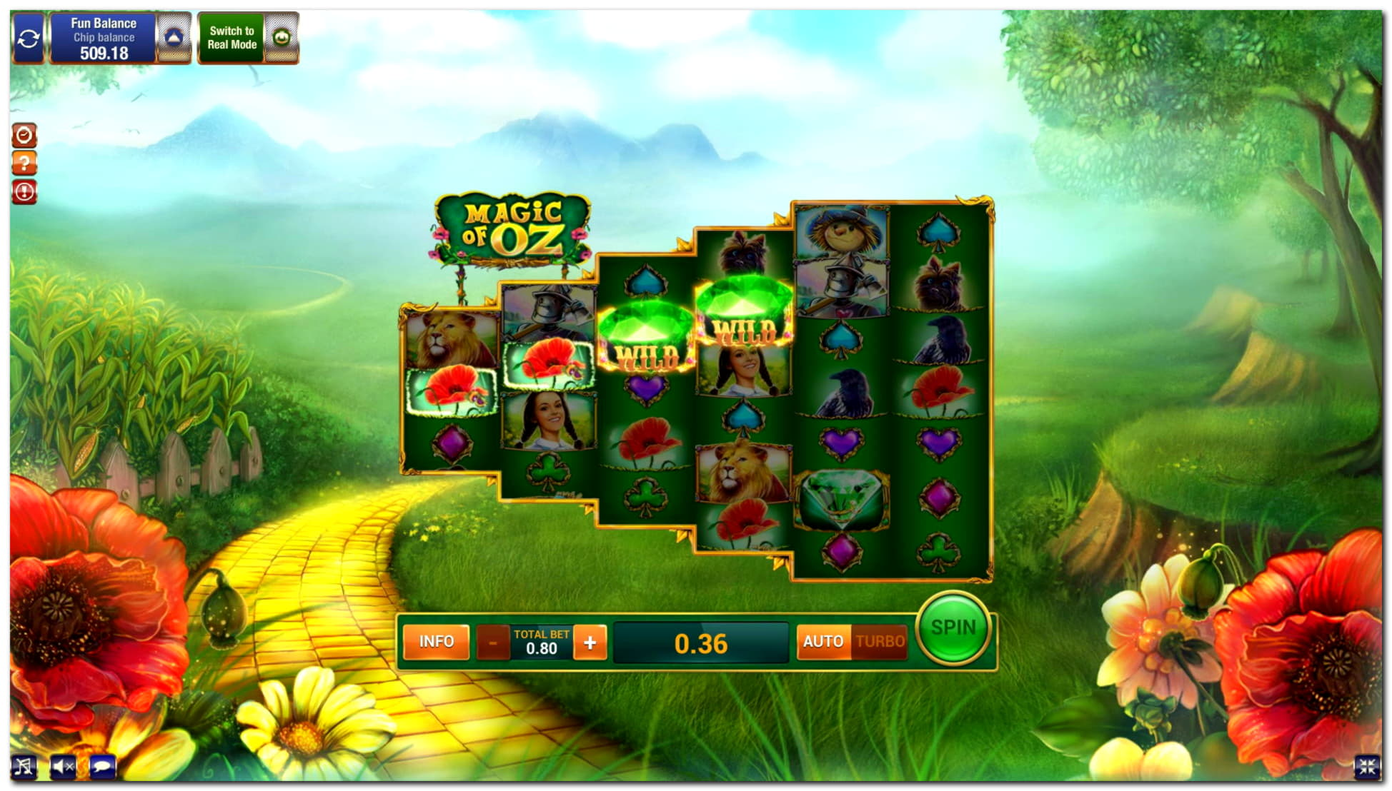 285 Free casino spins at Spins Royale Casino