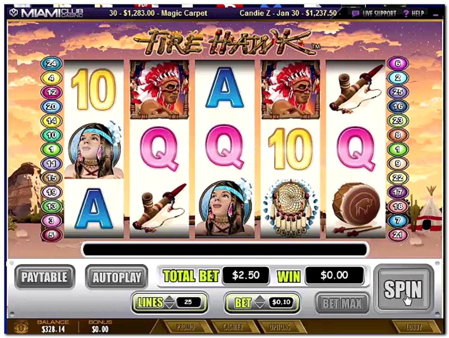 bWin Casino의 € 810 온라인 카지노 토너먼트