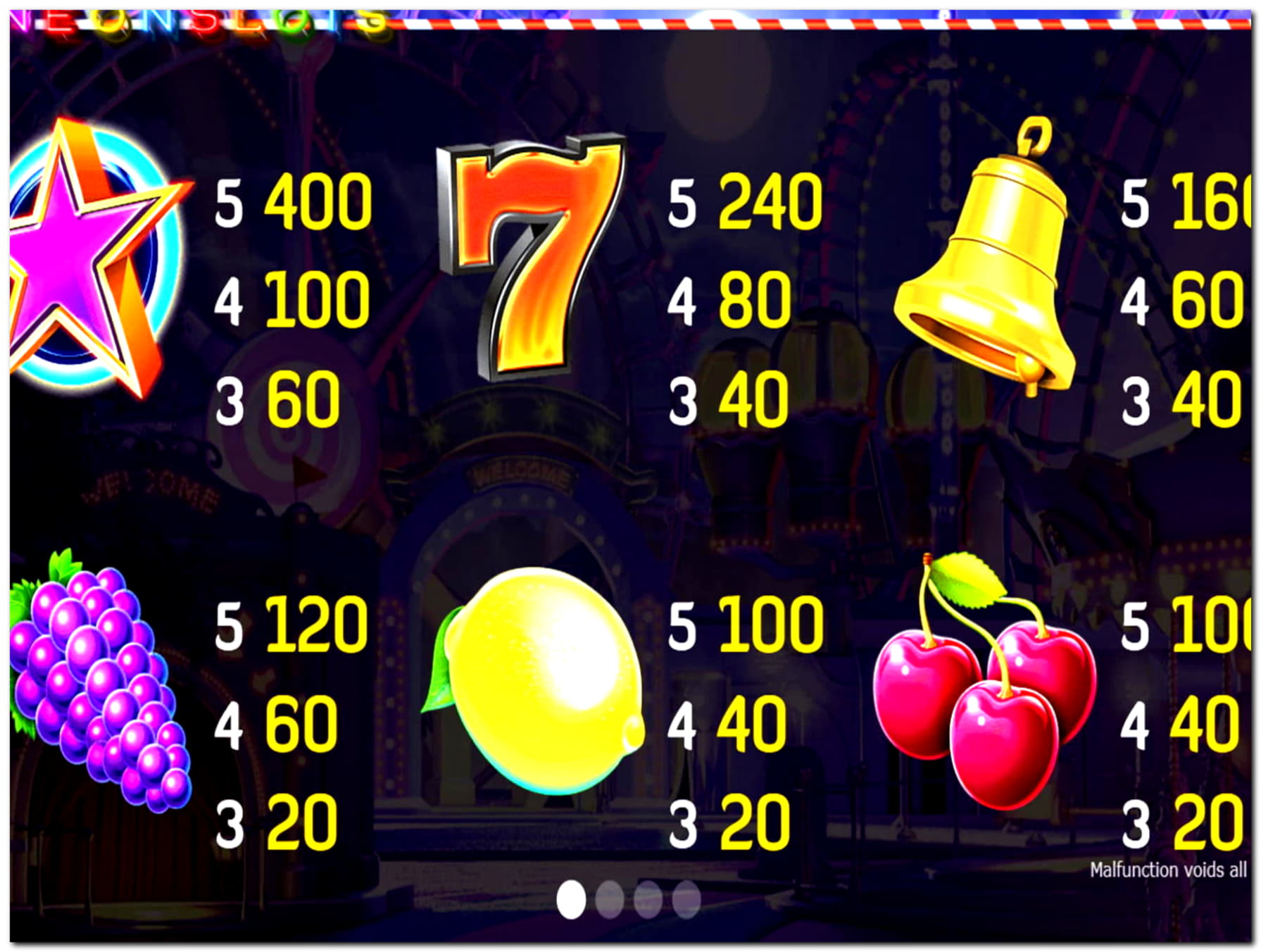 €190 casino chip at Spin Palace Casino