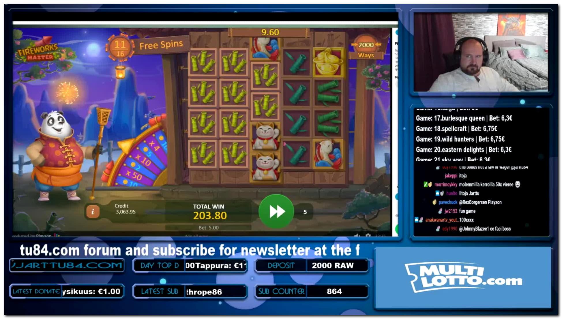 Torneo de tragamonedas freeroll diario de $ 945 en bWin Casino