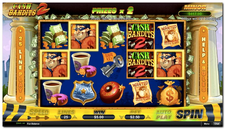 105 Free Spins Casino på Casino Cruise