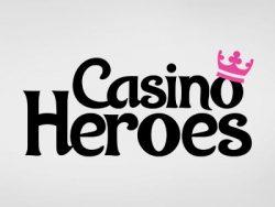 55 Free Spins no deposit casino at Casino Heroes